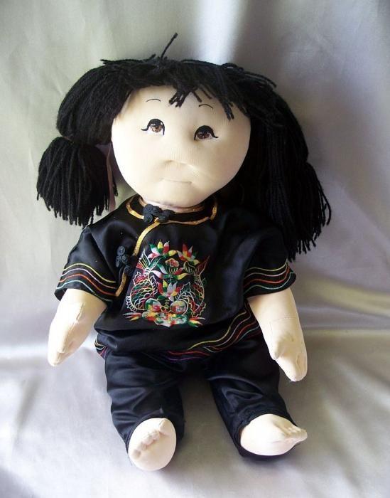 изготовление кукол из капроновых колготок