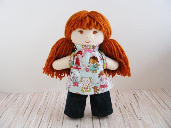 мк куклы попики