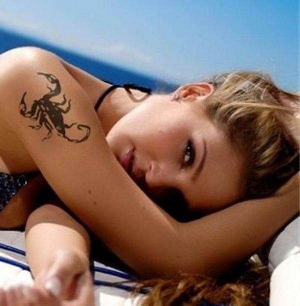 Культура тату: значение татуировки скорпиона