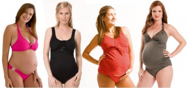 Купальники для беременных. Отдыхаем с пользой для здоровья