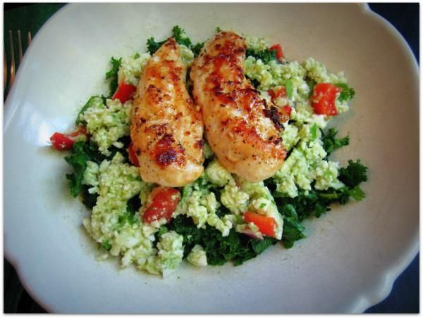 курица запеченная с овощами в рукаве
