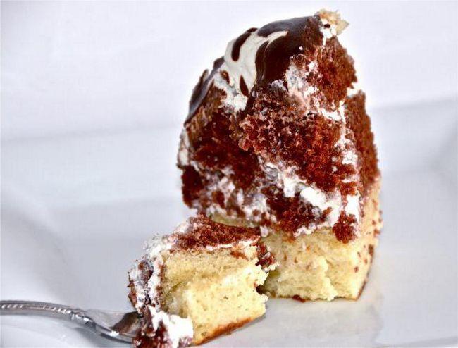 легкий рецепт торта в домашних условиях