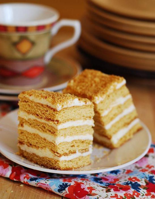 самый легкий рецепт торта в домашних условиях