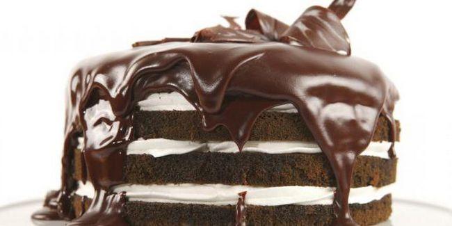 легкий рецепт шоколадного торта в домашних условиях