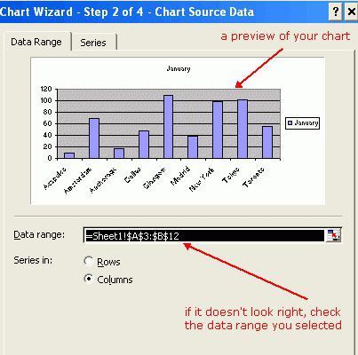 Мастер диаграмм в Excel