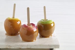 Любимый рецепт: яблоки в карамели