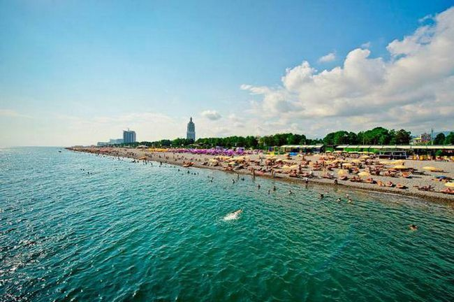 отдых в грузии пляжи