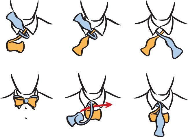 Лучшие способы, как завязывать бабочку