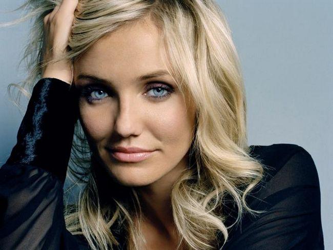 блондинки с голубыми глазами макияж