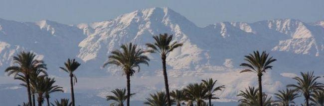 горнолыжный курорт марокко