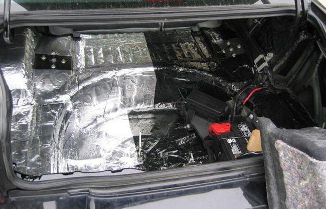 шумоизоляция авто
