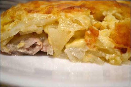 мясо по французски куриное филе