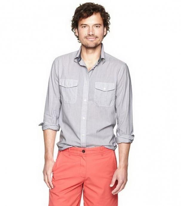 Модная мужская рубашка поможет создать желаемый образ