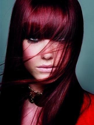 колорирование на длинные темные волосы