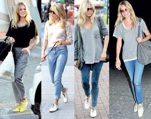 Модные советы: что носить с джинсами?
