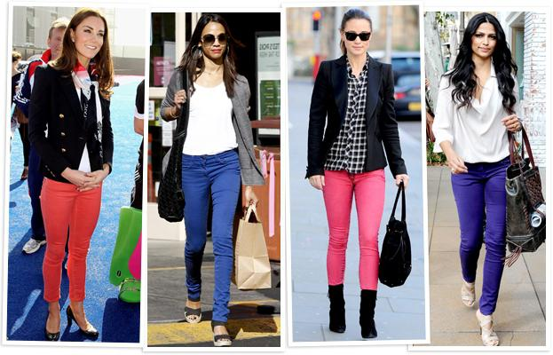 светлые джинсы с чем носить
