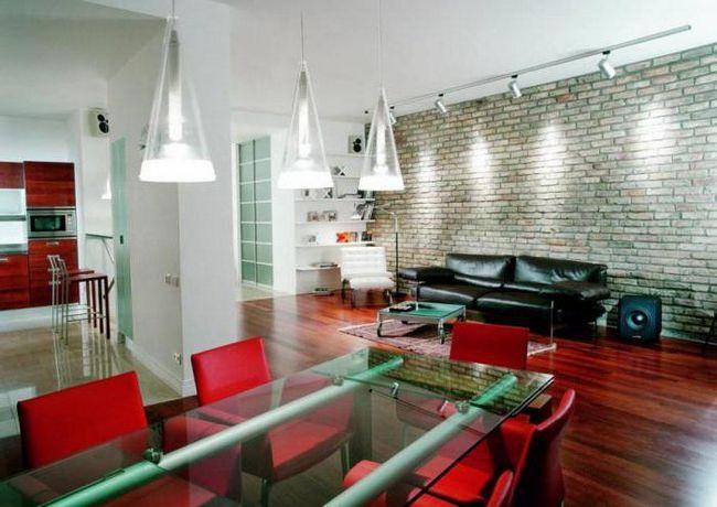 мебель для гостиной в современном стиле минимализм