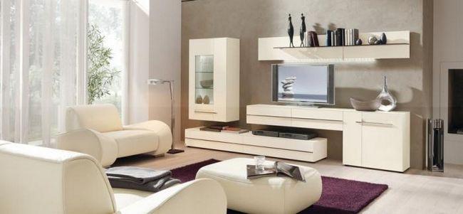Гостиные модульные системы
