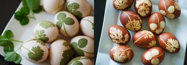 способы окраски яиц
