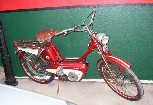 Необычный велосипед с мотором
