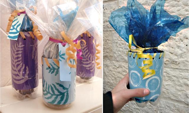 пластиковая упаковка подарков