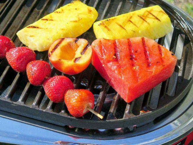 Невероятные секреты приготовления фруктов на гриле