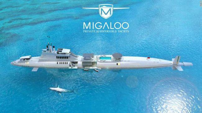 Невозможное возможно: роскошная яхта, способная погружаться на глубину до 240 метров