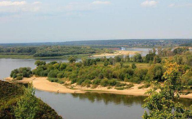 какая река в нижнем новгороде