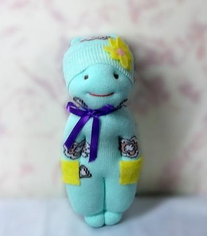 кукла из носка своими руками