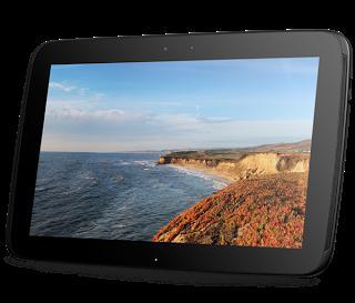Новый взгляд на технологии - планшет google