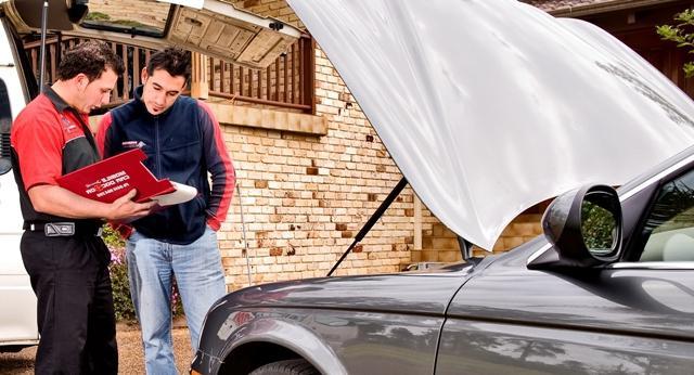 технический осмотр нового автомобиля