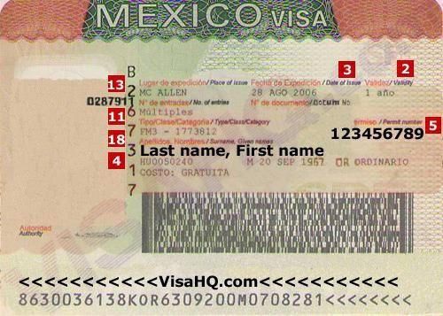Нужна ли виза в мексику
