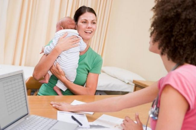 белый налет на языке у новорожденных