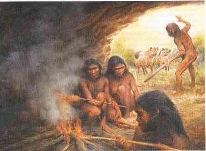 первого древнего человека называли