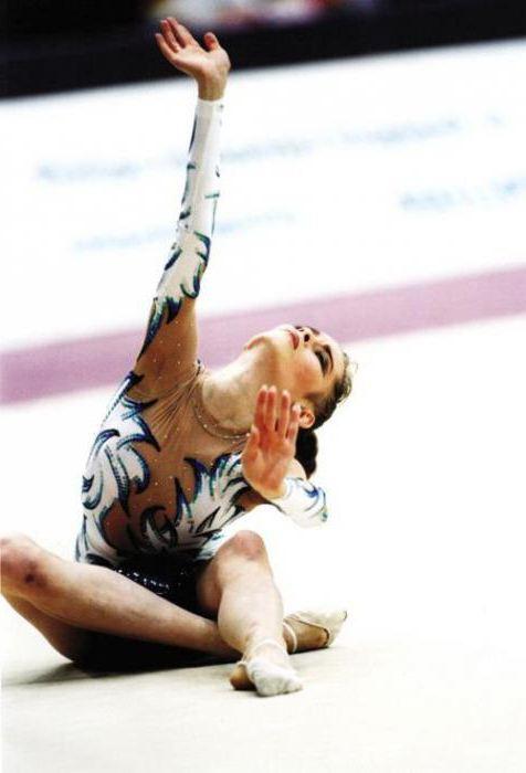юлия барсукова гимнастика