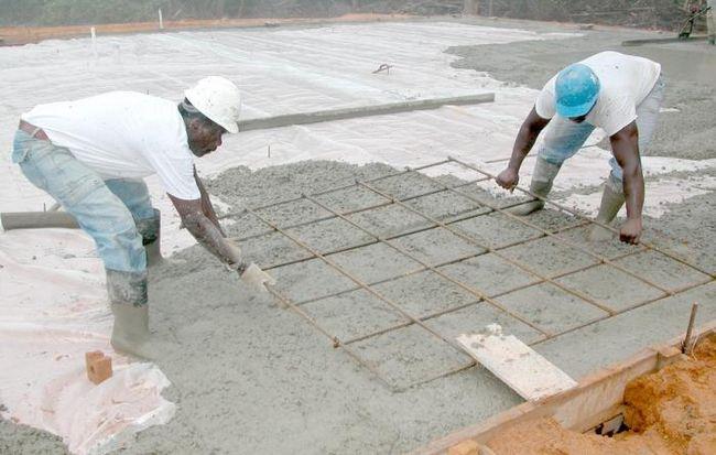 Определяем, сколько весит куб бетона