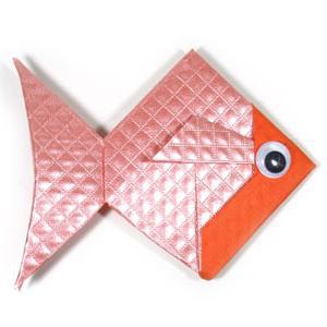 Оригами рыбка своими руками