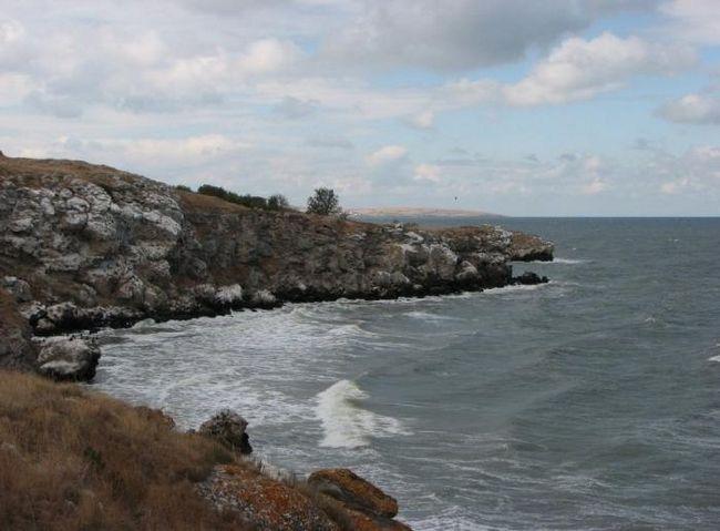 Особенности и температура воды в азовском море