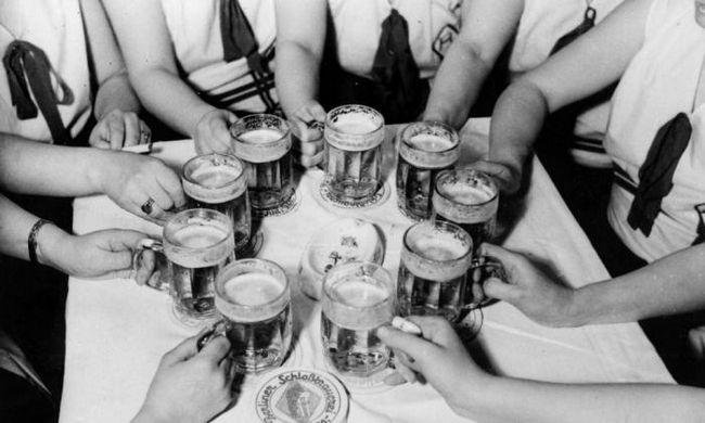 пиво женщина здоровье