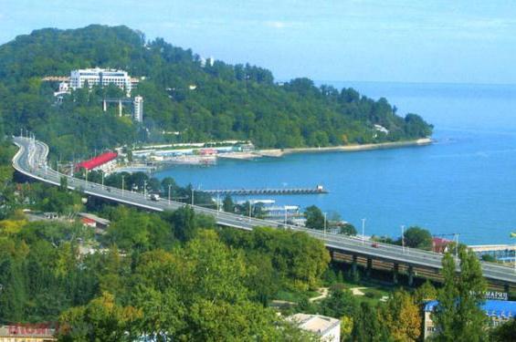 Отдых на черном море: достопримечательности адлера