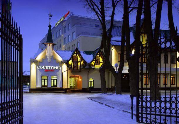 отель марриотт нижний новгород