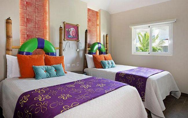 Отель мечты для поклонников спанч боба и его друзей