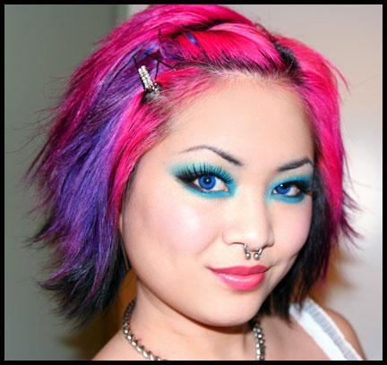 Пастельные мелки: как покрасить волосы?