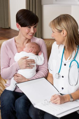 Патронаж новорожденного на дому в первый месяц его жизни