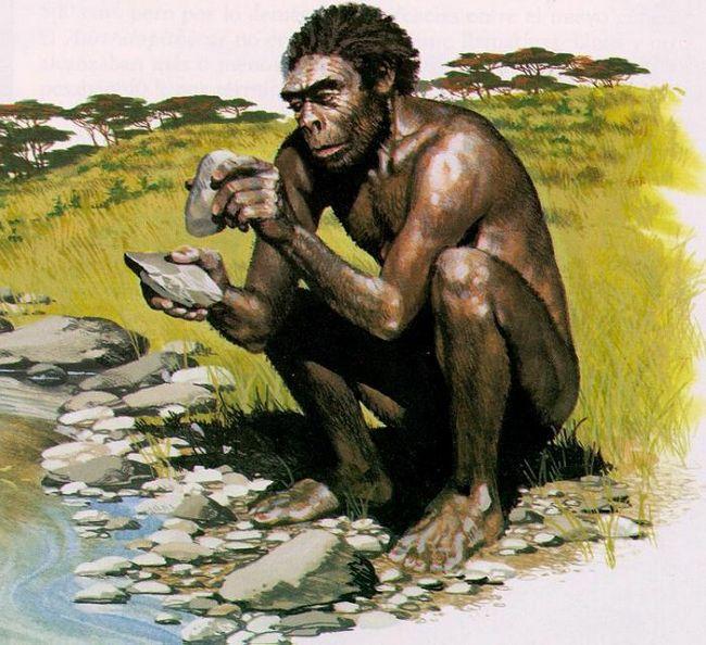 древнейший человек рост