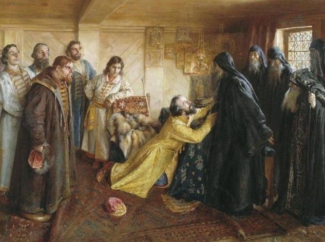 первый царь в России