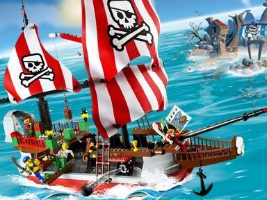 пиратский корабль игрушка