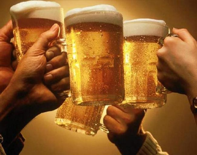 Пиво светлое нефильтрованное