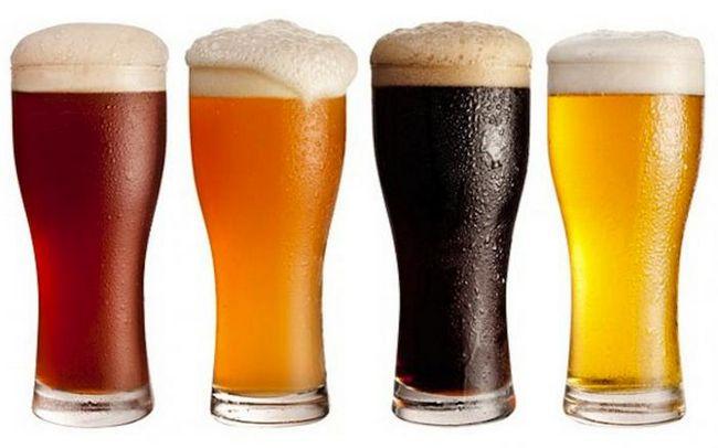 Сорта темного пива