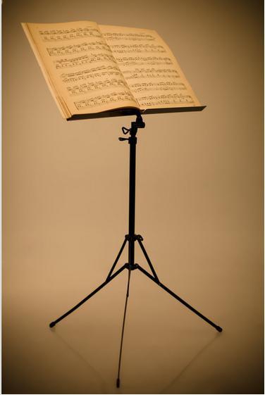 Пюпитр – удобная подставка для нот